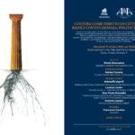 Convegno: Cultura come diritto di cittadinanza – radici costituzionali, politiche e servizi