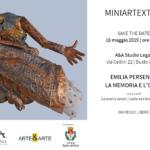Mostra d'arte: La memoria e l'oblio di Emilia Persenico